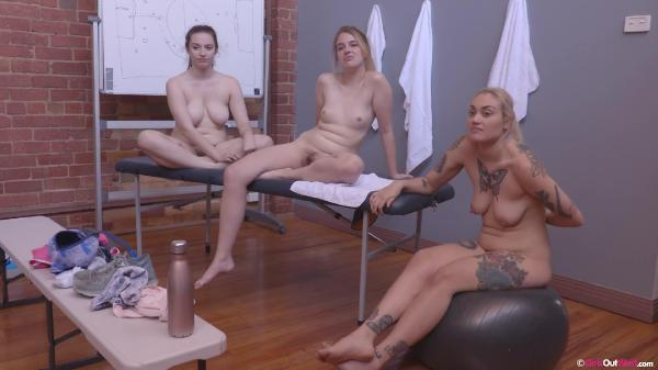 Katie Gee Violet And Willow Interview (GirlsOutWest/2019/1080p)