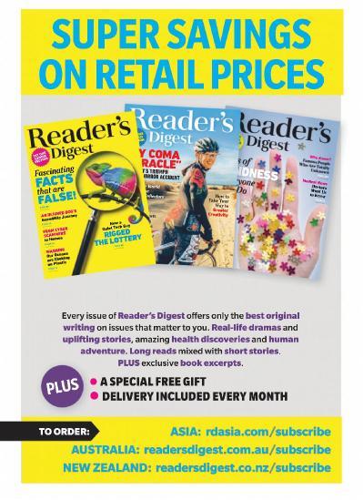 Reader ' s Digest Australia & New Zealand - October (2019)