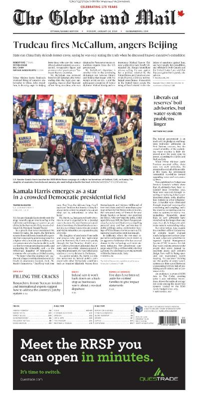 The Globe and Mail - 28 01 (2019)