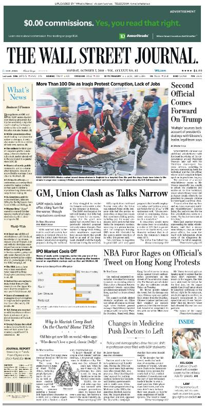 The Wall Street Journal - 07 10 (2019)