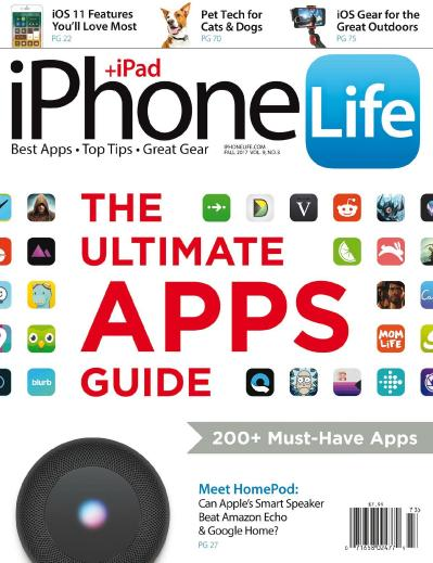 iPhone Life Magazine  Fall (2017)