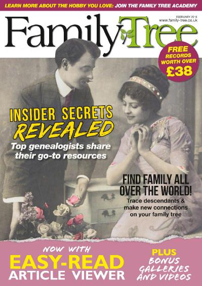 Family Tree UK  February (2018)