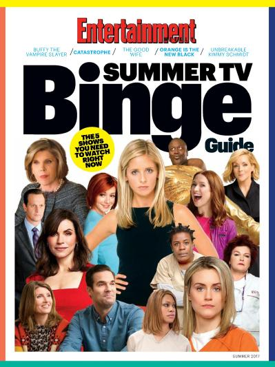 Entertainment Weekly  Binge Guide Summer (2017)