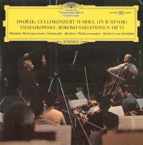 Dvorák & Tchaikovsky   Cellokonzert   Berliner Philharmoniker • Herbert von Karaja...