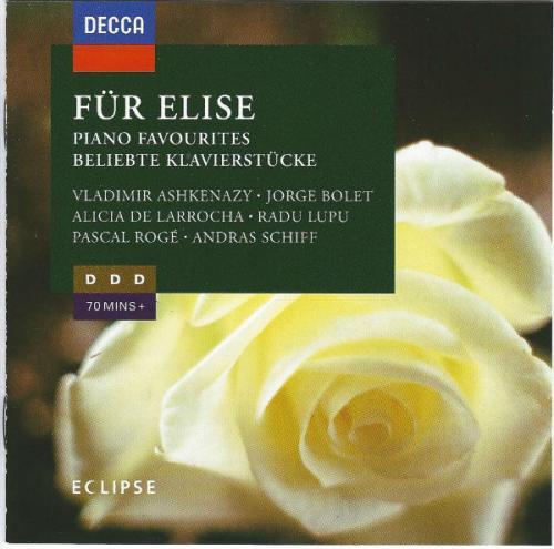 Für Elise   Piano Favourites   Works Of Beethoven, Handel, Bolet, Debussy, Liszt, ...