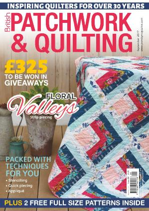 Patchwork & & Quilting UK  September (2017)