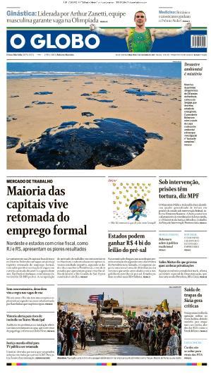 O Globo - 08 10 (2019)