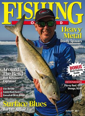 Fishing World  August (2017)