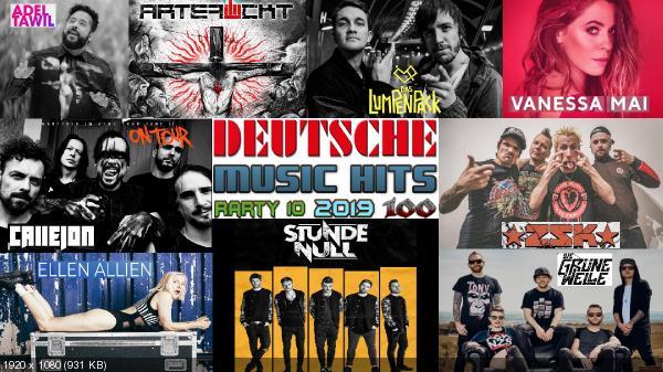 Сборник клипов - Deutsche Music Hits. Часть 10. [100 Music videos] (2019) WEBRip 1080p скачать торрентом
