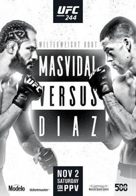 Смешанные единоборства. UFC 244: Masvidal vs. Diaz [03.11] (2019) HDTV 1080i